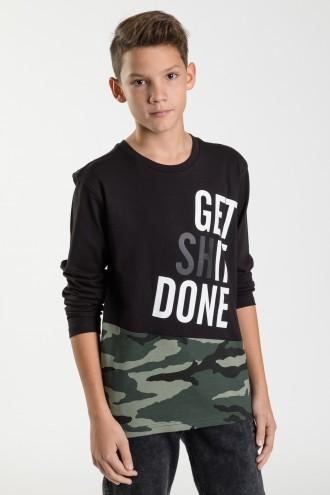 Bluza dla chłopca czarna