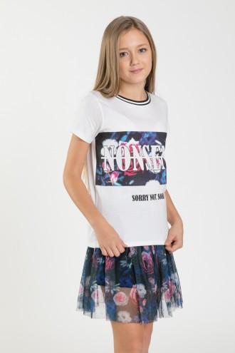 T-shirt dla dziewczyny NONSENS