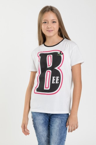 T-shirt dla dziewczyny BEE