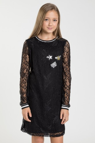 Czarna sukienka CHILL DREAM