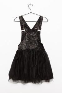 Czarna sukienka PUNK BABE