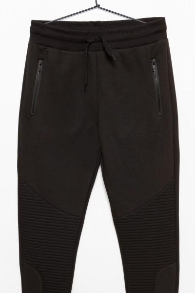 Czarne spodnie dresowe dla chłopaka MANIFESTO