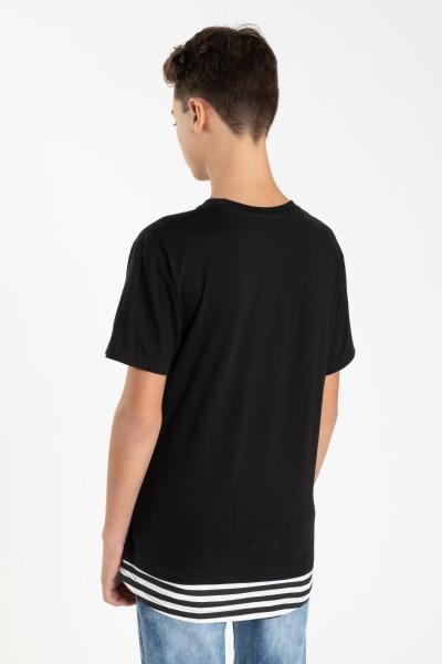 Czarny T-shirt dla chłopaka BORED