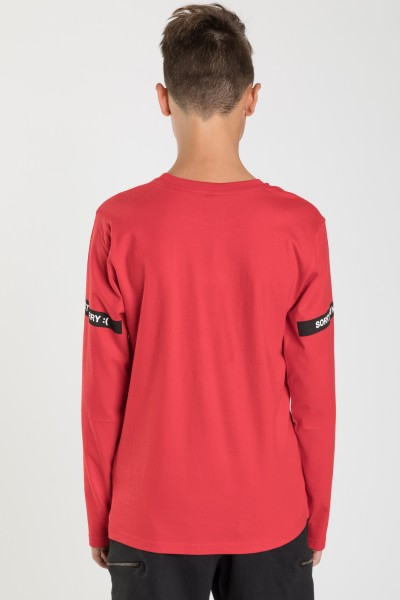 Czerwona bluzka dla chłopaka BAD EXAMPLE