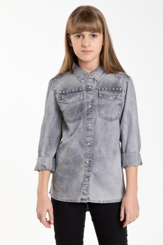 Marmurkowa koszula dla dziewczyny REBEL