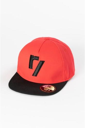 Czerwona czapka z daszkiem dla chłopaka RY