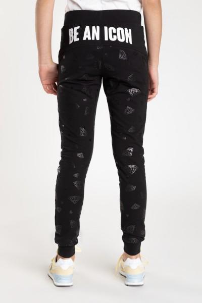 285aa92f6c Czarne spodnie dresowe DANCE Czarne spodnie dresowe DANCE