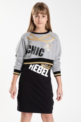 Dwuczęściowa sukienka CHIC REBEL