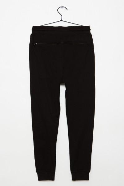 Czarne spodnie dresowe dla chłopaka