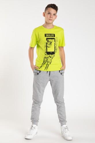 Szare spodnie dresowe dla chłopaka MONSTERS