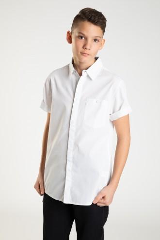 Elegancka koszula z krótkim rekawkiem FIT LOOSE