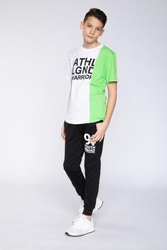Czarne spodnie dresowe dla chłopaka YOUTH SQUAD
