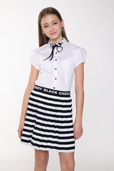 b962a7256f Biała bluzka dla dziewczyny NO WAY