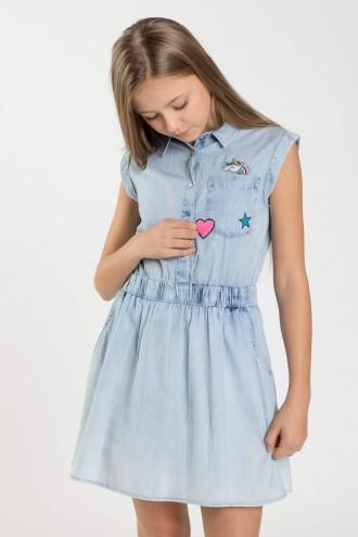 Jeansowa sukienka UNICORN