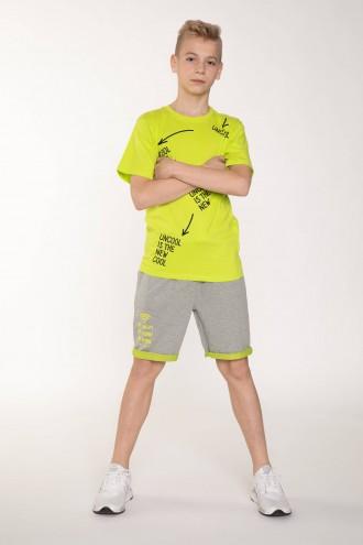 Szare spodenki dresowe dla chłopaka WIFI