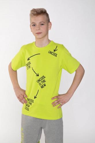 Neonowy T-shirt dla chłopaka COOL