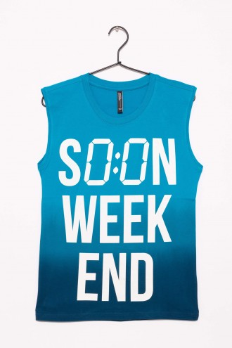 T-shirt dla chłopca SOON WEEKEND