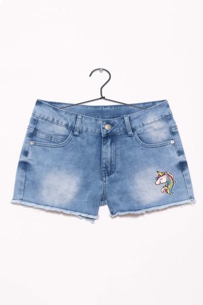 Jeansowe szorty dla dziewczyny