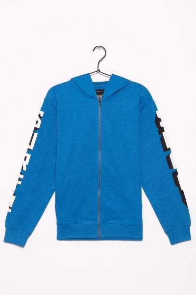 Niebieska bluza z kapturem dla chłopaka