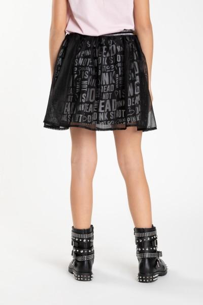 Czarna tiulowa spódnica OH YEAH