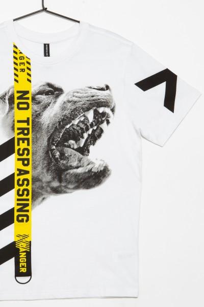 T-shirt dla chłopaka NO TRESPASSING