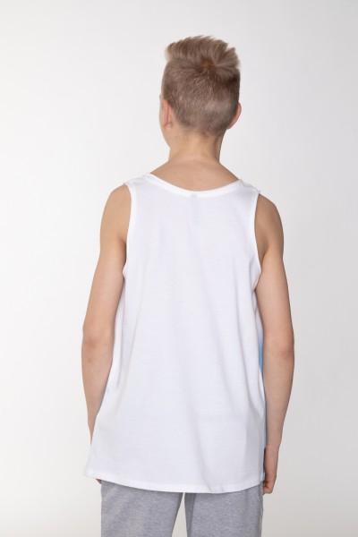 T-shirt bez rękawów dla chłopaka CHILL