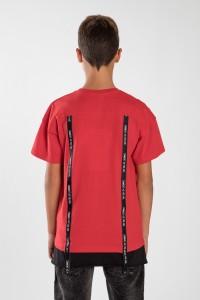 Czerwony T-shirt dla chłopaka GET APP