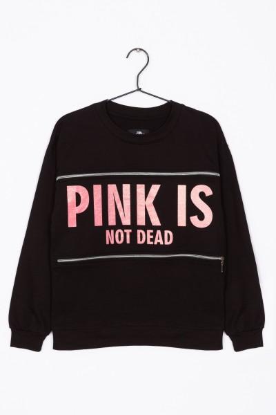 Czarna bluza z długim rękawem dla dziewczyny OH YEAH