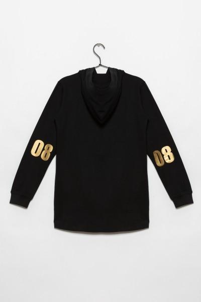 Przedłużana bluza dla dziewczyny REBEL