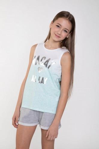 Dziewczęcy T-shirt VACAY