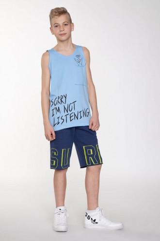 Krótkie spodnie dresowe dla chłopaka SURF