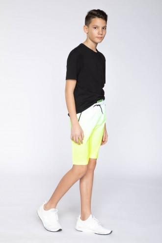 Dwukolorowe krótkie spodnie dla chłopaka