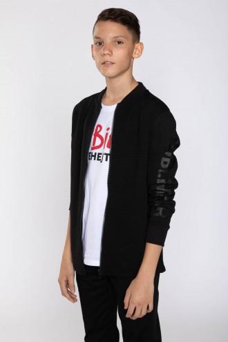 Czarna bluza dla chłopaka