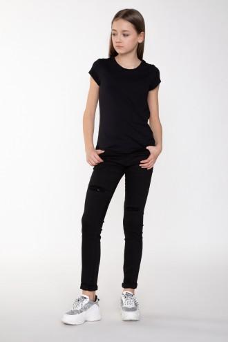 Spodnie dla dziewczyny czarne