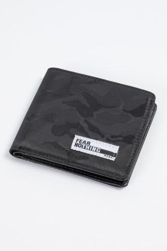 Czarny portfel dla chłopaka