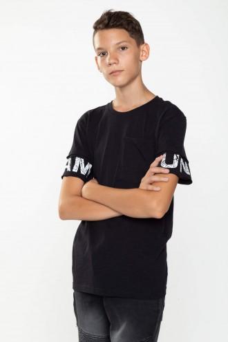 Czarny T-shirt dla chłopaka STREET