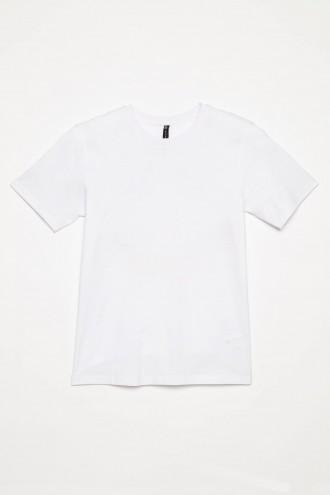 Klasyczny biały T-shirt dla chłopaka