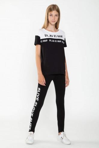 Czarne legginsy dla dziewczyny LIVE