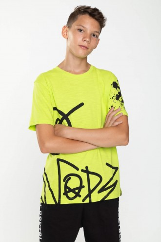 Neonowy T-shirt GRAFFITI