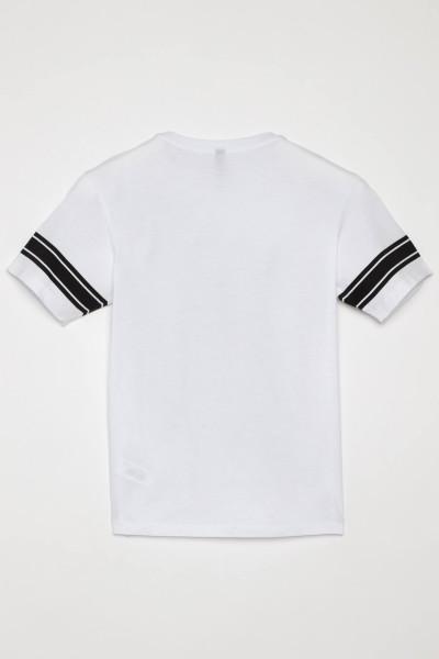 T-shirt z nadrukiem dla chłopaka