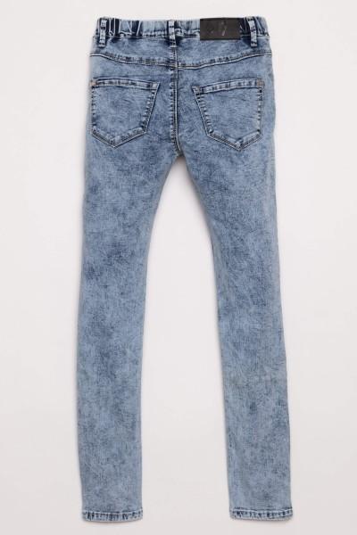 Dopasowane jeansy dla dziewczyny