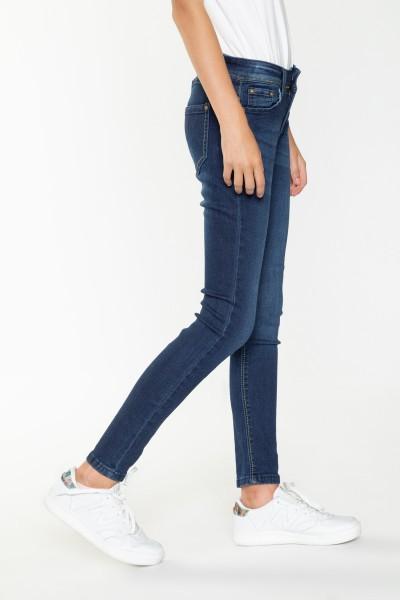 Szare spodnie dla dziewczyny