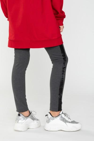 Spodnie z lampasem dla dziewczyny