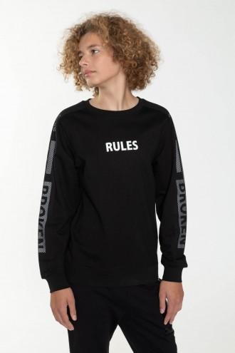 Bluza z długim rękawem dla chłopaka RULES