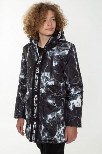 Ocieplana kurtka dla chłopaka SNOW