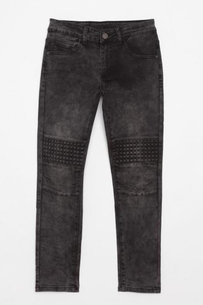 Jeansy z przeszyciami z przodu