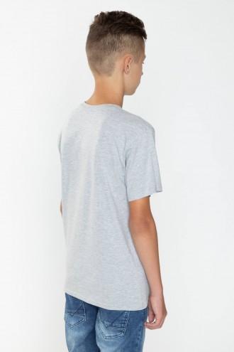 Szary T-shirt dla chłopaka CHYBA TY