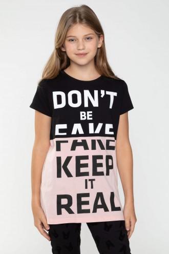 T-shirt dla dziewczyny z nadrukiem