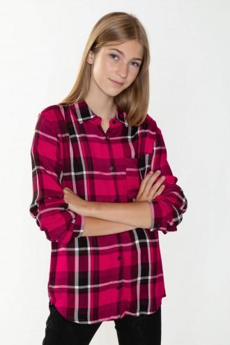 Koszula w kratkę dla dziewczyny