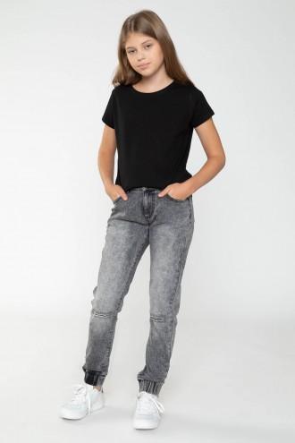 Spodnie dla dziewczyny, szare